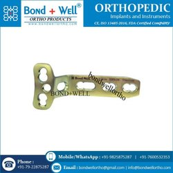 4.5 Mm Orthopedic Implants T Plate