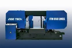 ITM-850LMGS - Semi Automatic Double Column Bandsaw Machine On Lmg