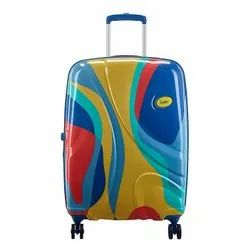 Skybags Rio Blue Trolley Bag, For Travelling, Size: 55 Cm