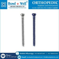 4.0 mm Fully Thread Orthopedic Implants Cancerous Screw