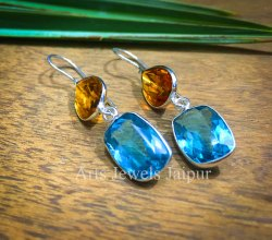Handmade Casual Use Stone Earring
