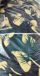 Camouflage Print Poly Viscose Fabric, For Garments