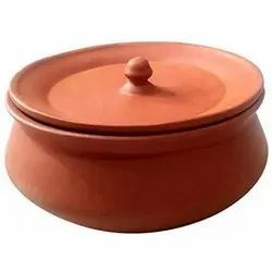 500 Ml Terracotta Biryani Handi