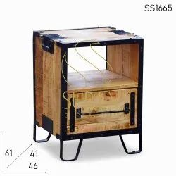 Wooden Commercial Furniture Hospitality Drawer, Polished, Size: 46 X 46 X 61 Cm