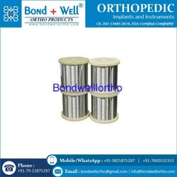 Orthopedic Implants SS Wire Reel