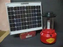 7 W Red CFL Solar Lantern