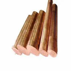 Beryllium Copper Round Rod Manufacturer in India