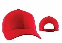Plain Red Fashion Cap