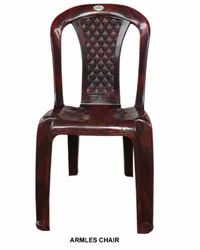 Colored Armless Plastic Chair
