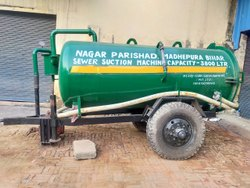 Septic Tank Cleaning Tanker