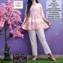 Stylish Short Kurti with Pant