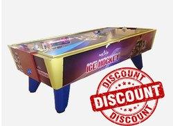Ice Air Hockey Arcade Game - Acrylic Top