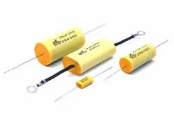 KT22 Polyester Film Capacitor Axial, -40c To +105c, 0.001uf To 4uf