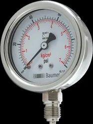 SS Pressure gauge utility