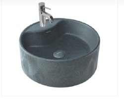 Table Top Wash Basin Liner Stone Gray Matt