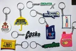 Silicon Soft Key Chain, Packaging Type: Polybag