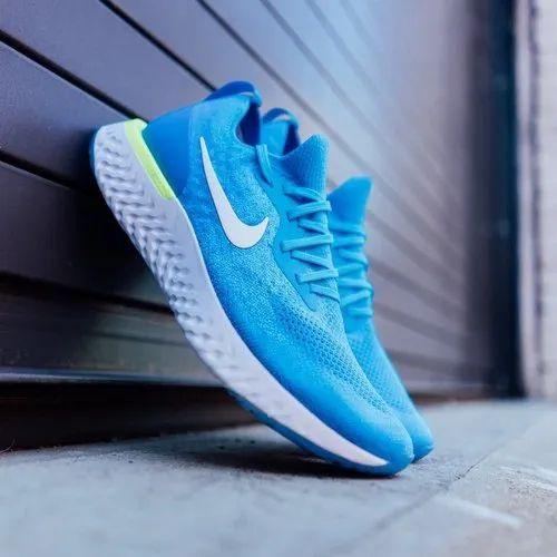 Nike epic react flyknit sky blue men's