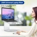 URBAN KINGS 360-degree Rotating Base Laptop Stand . 6 Height Levels aid in Better Posture
