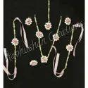 Pearls Wedding Aabhushan Creations Pearl Haldi Jewellery Set