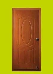 Brown TATA Pravesh Pearl Steel Doors, Single, Thickness: 46 Mm
