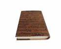 Vintage Brown Calligraphy Designer Leather Journal