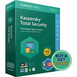 Kaspersky Total Security 5 Pc 1 Year