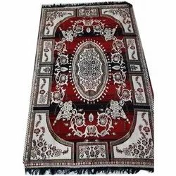 Red Indian Rug Carpet, Size: 86 X 55 Inch
