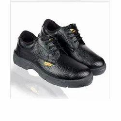 Safehawk Black Safety Shoe, Size: 7