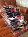 Shraddha Sales Light Weight Acrylic Cosmetic Storage Box, Box Capacity: 1-5 Kg