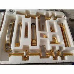 Brass Door Kit, 10 Inch