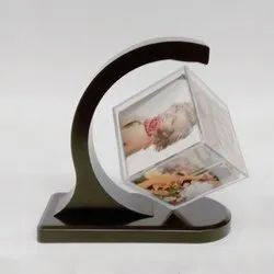 Tabletop Cube Shaped Photo Frame