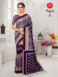 Wedding Wear Cotton Silk Saree
