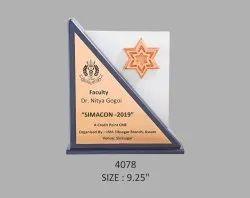 Premium wooden Trophy