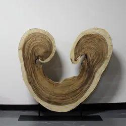 Decorative Wooden Tree Sculpture