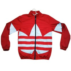 Collar Neck Mens Regular Fit Polyester Jacket, Size: M-XXL