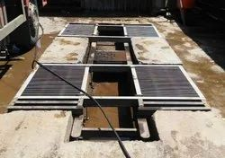 Washing Center Ramp With Tyre Rest- Capacity 4 Ton