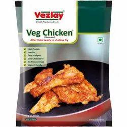 Veg Chicken (Plant Based), 150 G ( 5.29oz), Packaging Type: Packet