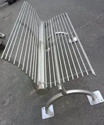 Steel Waiting Bench