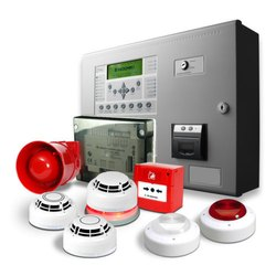 M S Body White Fire Alarm Security Systems