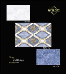 Ceramic Mosaic Multicolor 12x18 Digital Wall Tiles, Thickness: 5-10 Mm, Size: 30 X 45 Cm