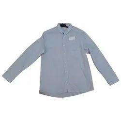 Full Sleeves Cotton Boys Plain Shirts
