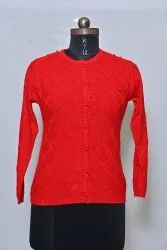 1704 Woolen Ladies Cardigan