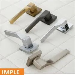Imple Brass Mortise Handle