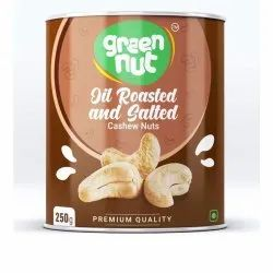 Ground Nut Salty Roasted Cashews, Packaging Size: 250 Grams