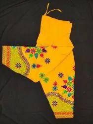 Ladies Cotton Embroidered Patiyala salwar
