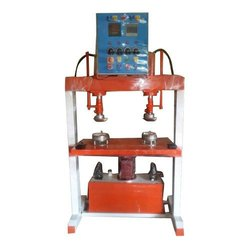 Double Die Double Cylinder Hydraulic Paper Dona Making Machine