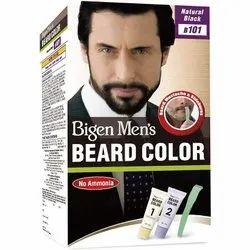 Black Cream Mens Bigen Beard Color, For Personal, Box