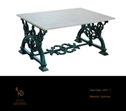 Cast Iron Table With Top