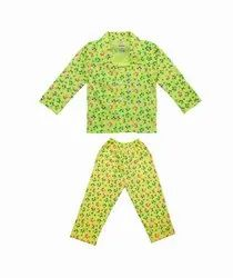 Unisex Cotton NEW PRINTED NIGHT SUIT FOR BOYS & GIRLS
