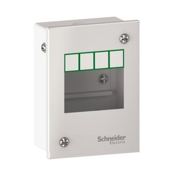Schneider Easy9 Metal Enclosure For Modular Devices 4 Modules, Degree Of Protection: Ip30